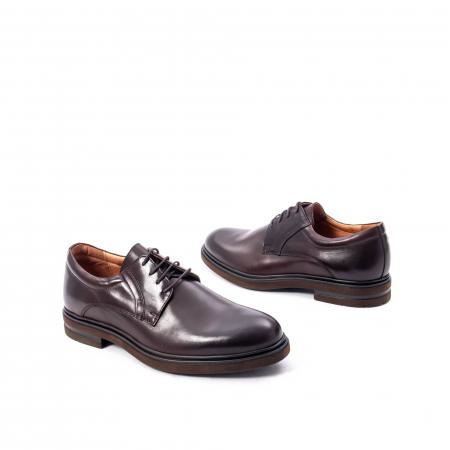Pantofi barbat din piele naturala  998 mogano2
