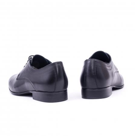 Pantofi barbati eleganti, piele naturala, LFX 896 negru [6]