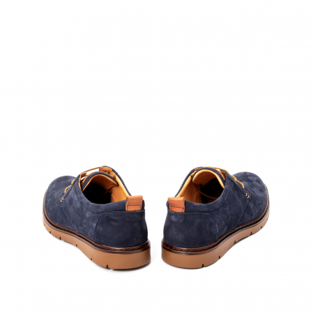 Pantofi barbat piele naturala nubuc, OT 59302