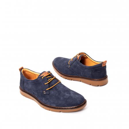Pantofi barbat piele naturala nubuc, OT 59303