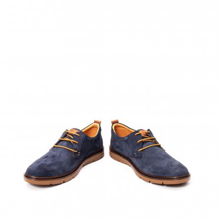 Pantofi barbat piele naturala nubuc, OT 59304