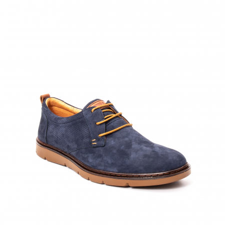 Pantofi barbat piele naturala nubuc, OT 59300