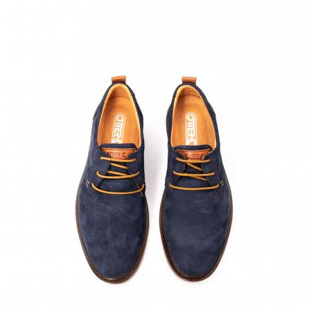 Pantofi barbat piele naturala nubuc, OT 59305