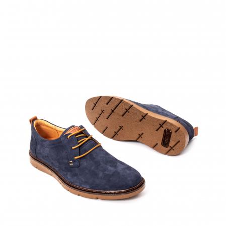 Pantofi barbat piele naturala nubuc, OT 59306
