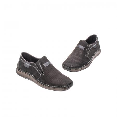 Pantofi barbati vara casual, piele naturala, LFX 5951