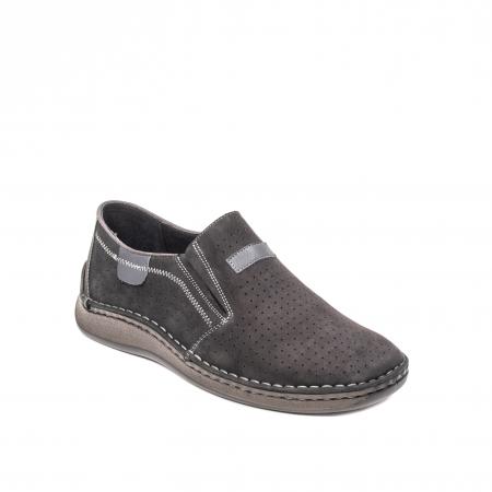 Pantofi barbati vara casual, piele naturala, LFX 5950