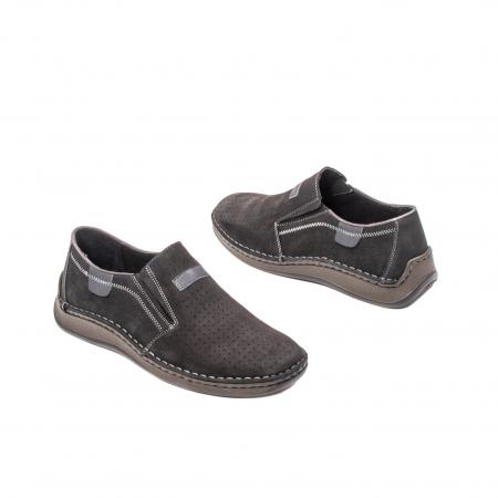 Pantofi barbati vara casual, piele naturala, LFX 5952