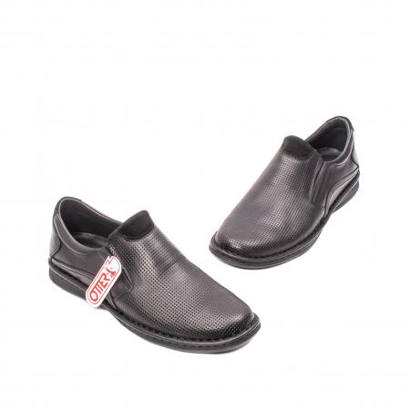 Pantofi barbati vara casual, piele naturala, OT 450151