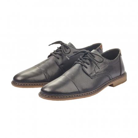 Pantofi barbati casual din piele naturala Rieker 13427-004