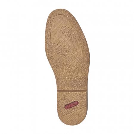 Pantofi barbati casual din piele naturala Rieker 13427-001