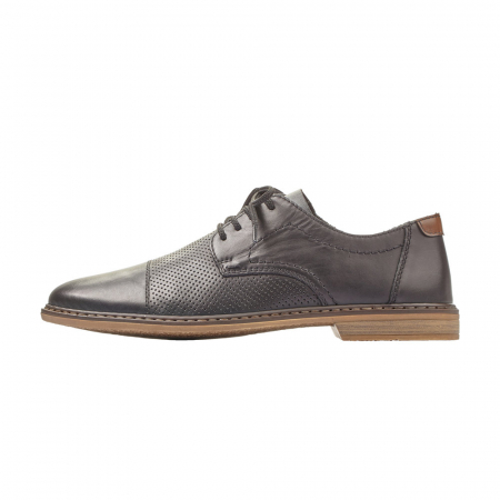 Pantofi barbati casual din piele naturala Rieker 13427-006
