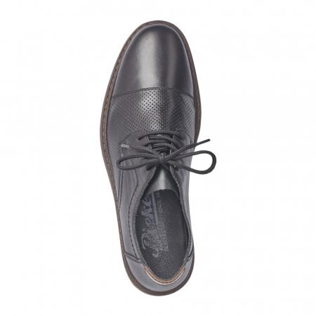 Pantofi barbati casual din piele naturala Rieker 13427-002