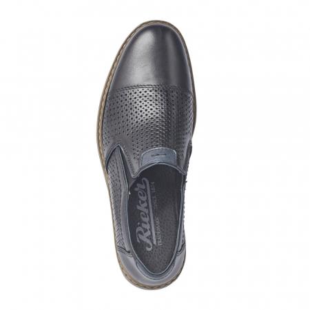 Pantofi barbati casual din piele naturala 13496-015