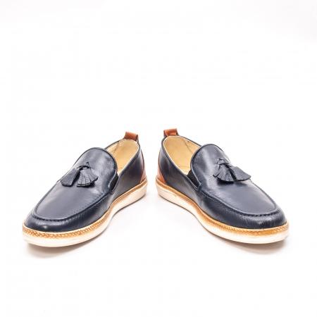 Pantofi barbati casual din piele naturala, 191544STAR, bleumarin4