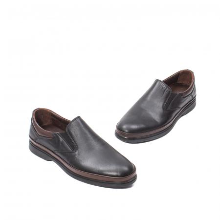 Pantofi barbati casual, piele naturala, KKM57241