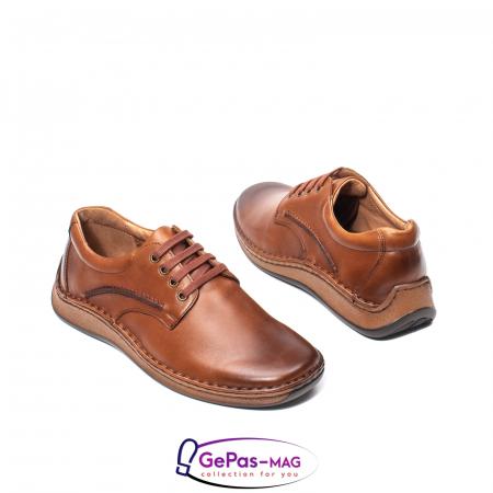 Pantofi barbati casual din piele naturala Lfx 918 [2]