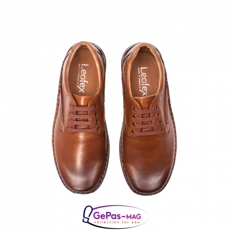 Pantofi barbati casual din piele naturala Lfx 918 [5]