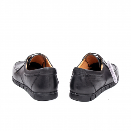 Pantofi barbati casual piele naturala Otter 20915 01-N, negru6