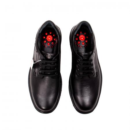 Pantofi barbati casual, piele naturala Otter 2804, negru5