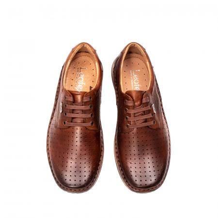 Pantofi barbati vara casual, piele naturala, LFX 5945