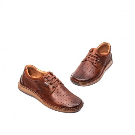 Pantofi barbati vara casual, piele naturala, LFX 5941