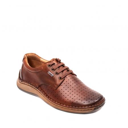 Pantofi barbati vara casual, piele naturala, LFX 5940