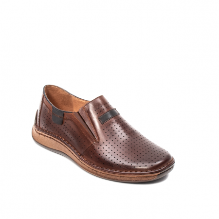 Pantofi barbati vara casual, piele naturala, LFX 595