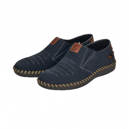 Pantofi casual barbati din piele naturala, B2457-144