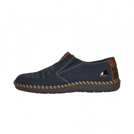 Pantofi casual barbati din piele naturala, B2457-143