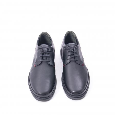 Pantofi casual barbat din piele naturala Otter 5318 negru5