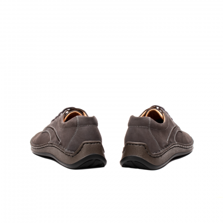 Pantofi  barbati casual, piele naturala nubuc, LFX 918 G6