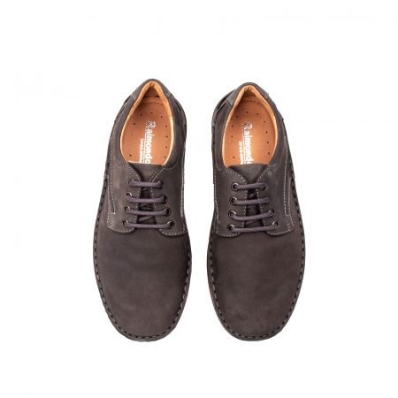 Pantofi  barbati casual, piele naturala nubuc, LFX 918 G5