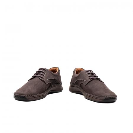Pantofi  barbati casual, piele naturala nubuc, LFX 918 G4