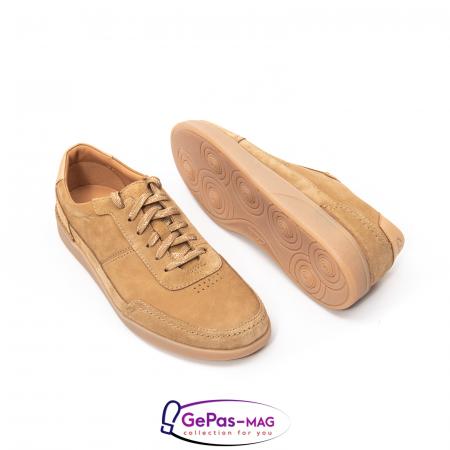 Pantofi casual barbat Oakland Run CL26154057, piele naturala nubuc2