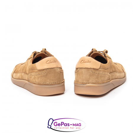 Pantofi casual barbat Oakland Run CL26154057, piele naturala nubuc4