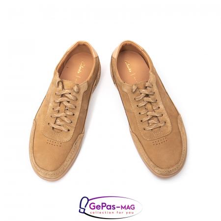 Pantofi casual barbat Oakland Run CL26154057, piele naturala nubuc3
