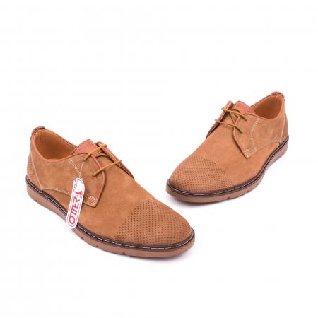 Pantofi casual barbat OT 5925-1 coniac1