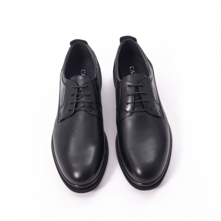Pantofi casual barbat,piele naturala Catali 172568,negru5
