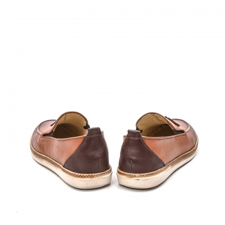 Pantofi barbati casual, piele naturala, 191544STAR, coniac6
