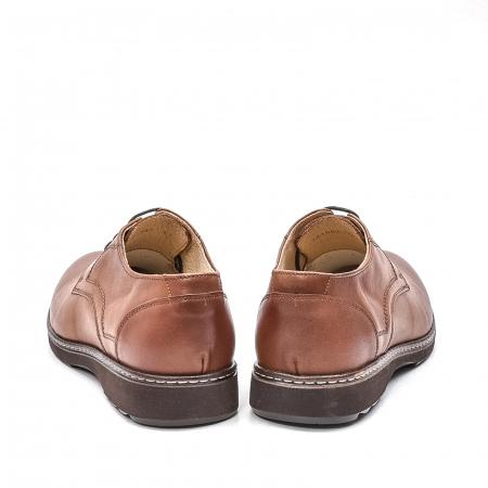 Pantofi barbati casual din piele naturala, 201567NP, maro6