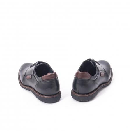 Pantofi casual barbat piele naturala, Catali 182505 negru6