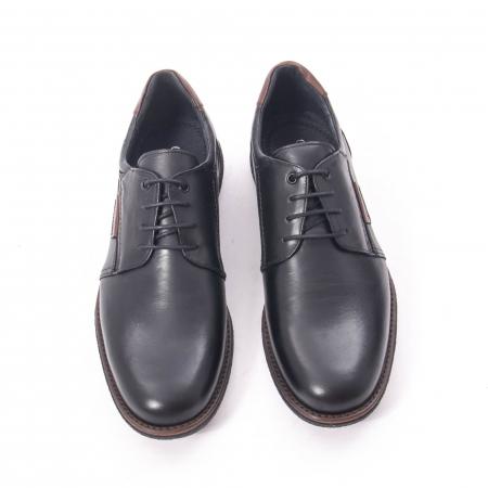 Pantofi casual barbat piele naturala, Catali 182505 negru5