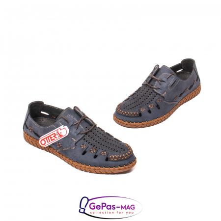 Pantofi casual barbat, piele naturala nubuc, OJ2911-133 42-21