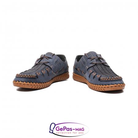 Pantofi casual barbat, piele naturala nubuc, OJ2911-133 42-24