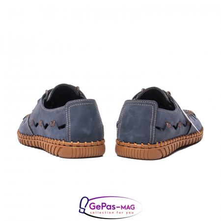 Pantofi casual barbat, piele naturala nubuc, OJ2911-133 42-26