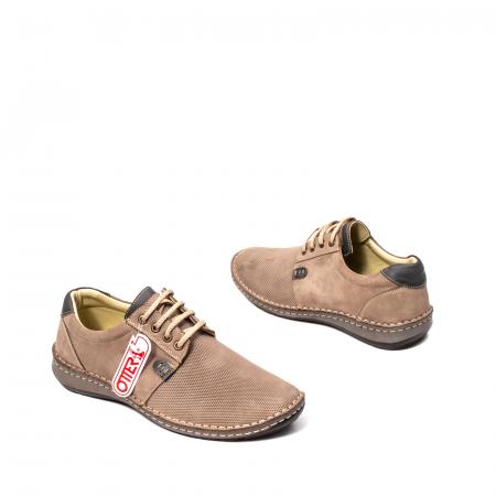 Pantofi barbat casual, piele naturala, OT 9551 14-22