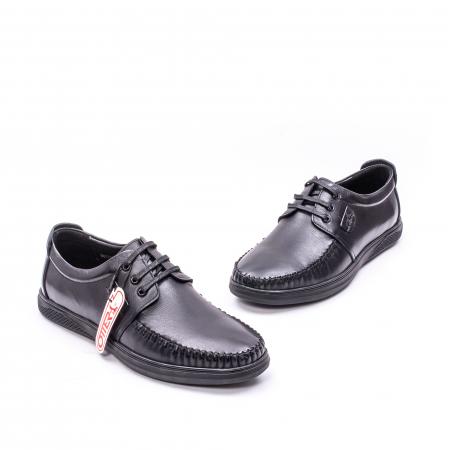Pantofi casual barbati, piele naturala, OT-QRB 017314 01-N6