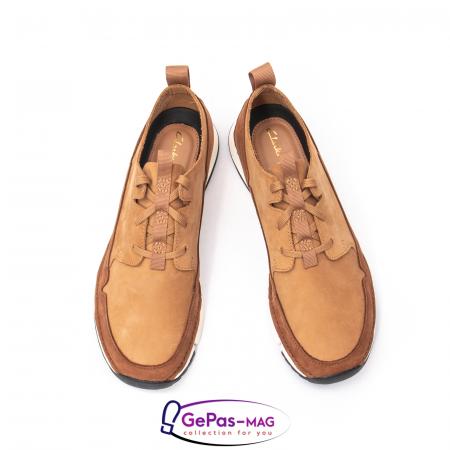 Pantofi casual barbat Tri Solar CL26152316, piele naturala nubuc3
