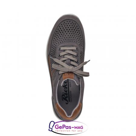 Pantofi barbati casual, piele naturala, 16425-402