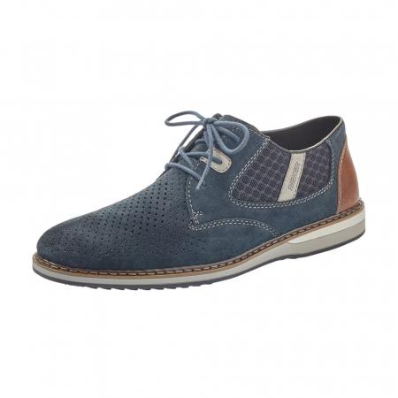 Pantofi barbati casual, piele naturala, RIK 16826-140